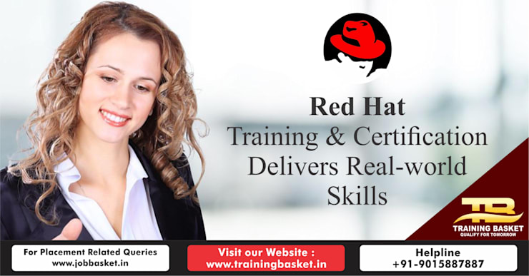Best Red Hat Training in Noida | Red Hat Certification in Noida | Best Red Hat Training Institute in Noida:  Study/office by Training Basket, Industrial