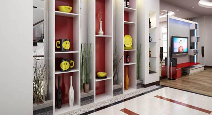 Locaux commerciaux & Magasins de style  par Công ty Thiết Kế Xây Dựng Song Phát