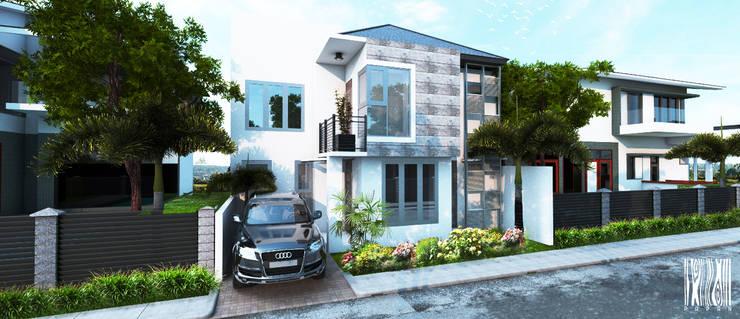 Rumah Bapak Ibrahim:   by Papan Architect