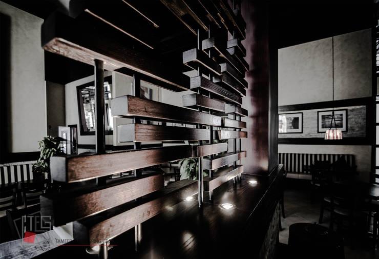 Steak House Restaurant:   تنفيذ مجموعة تعمير الهندسية - TEG Designs