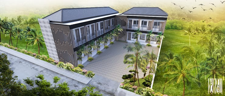 Kontrakan Sumbawa:   by Papan Architect