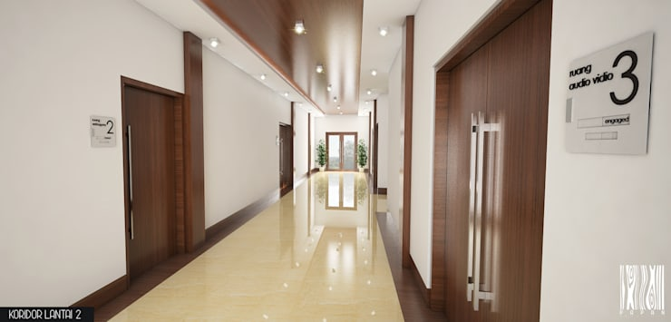 Interior Taman Nasional Tambora:   by Papan Architect