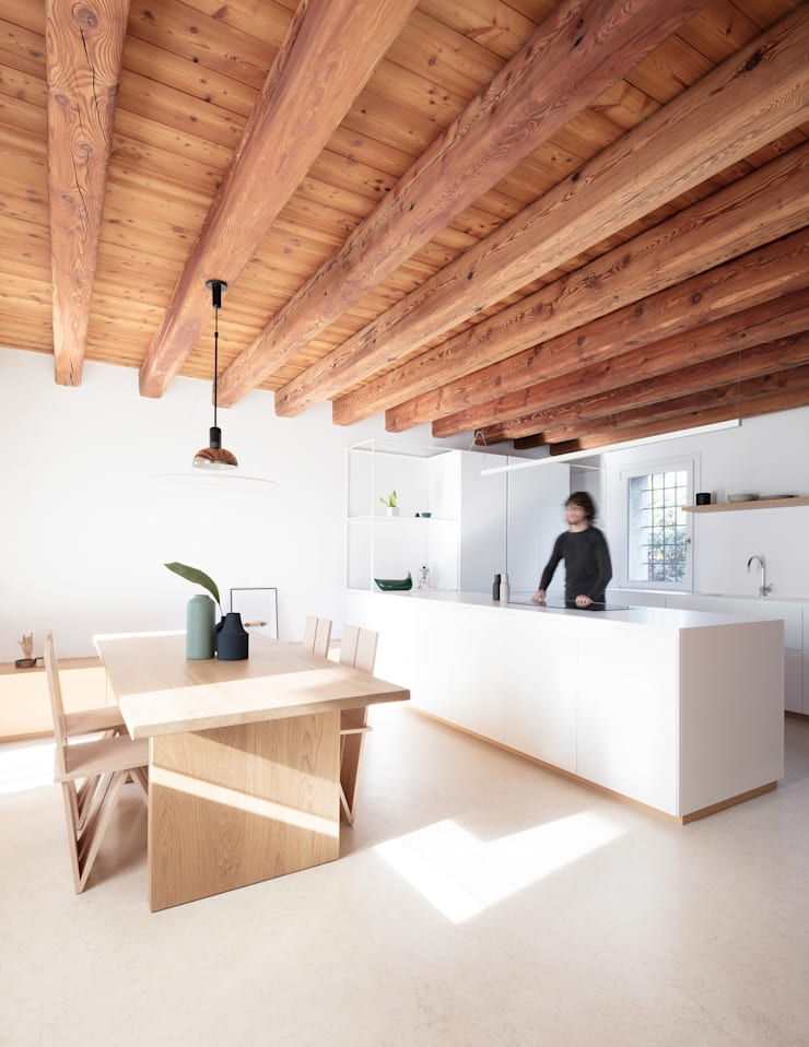 Dapur oleh Didonè Comacchio Architects, Minimalis