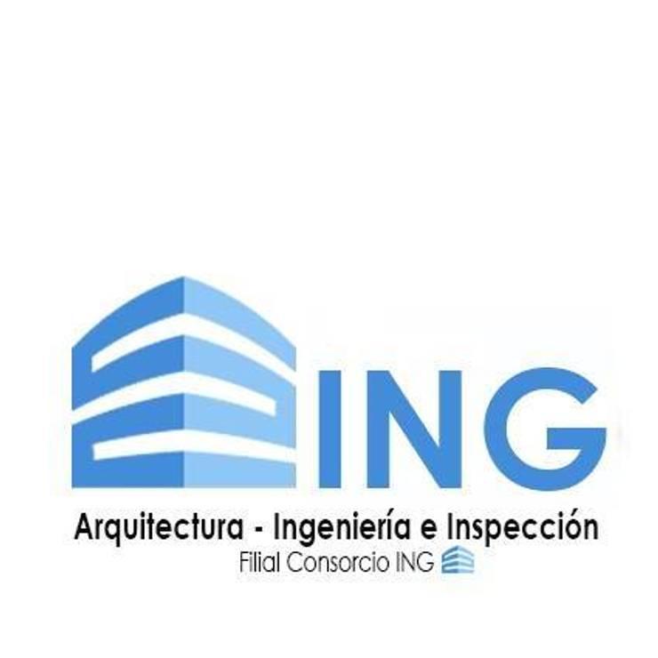 Casa CAM, Fundo el Venado, San Pedro de la Paz: Casas unifamiliares de estilo  por Sociedad Comercial & Ingeniería ING Spa.