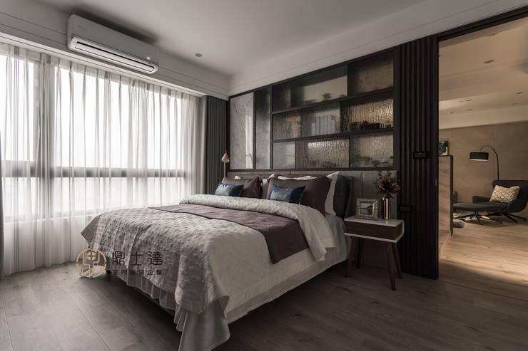 Dormitorios de estilo  de 鼎士達室內裝修企劃,