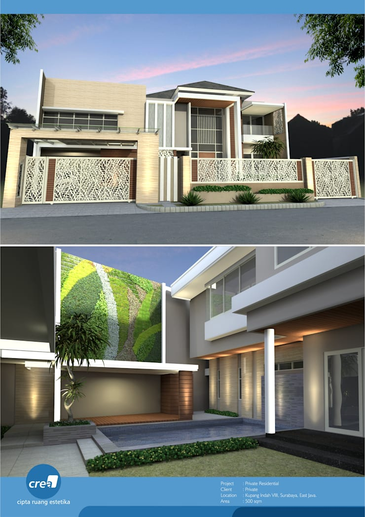 Kupang Indah:   by Crea architect