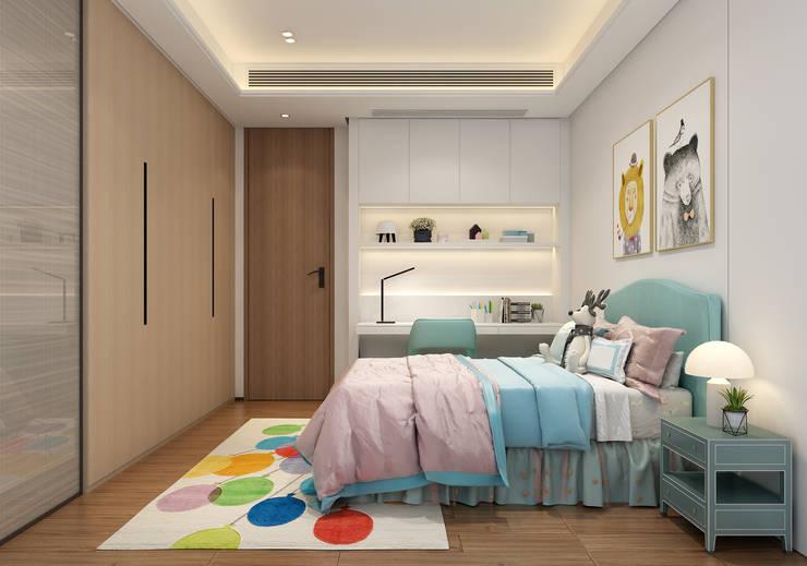 3D示意圖3:  臥室 by VH INTERIOR DESIGN