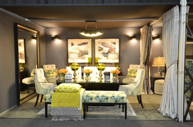 DecorexJhb 2018 - Dining Room:  Dining room by DDL Design & Decor Lab (Pty) Ltd