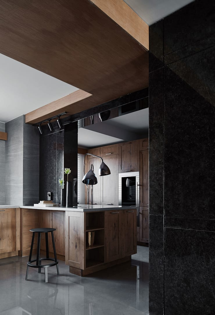 KITCHEN:  Built-in kitchens by ARCHISTRY design&research office