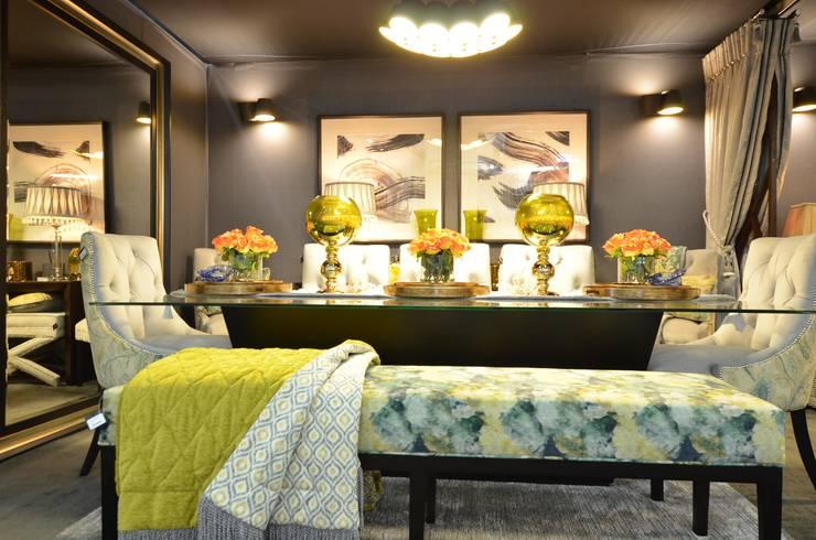 DecorexJhb 2018—Dining Room:  Dining room by DDL Design & Decor Lab (Pty) Ltd