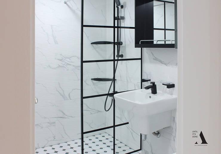청주 현대대우 45py: 올라운더(ALLROUNDER)의  욕실,