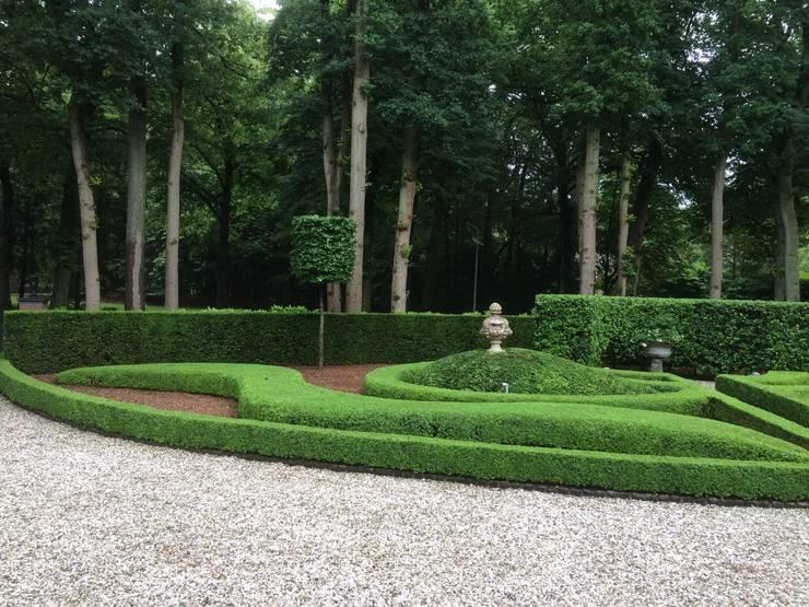 Jardines de estilo  por groenpartners, Rural