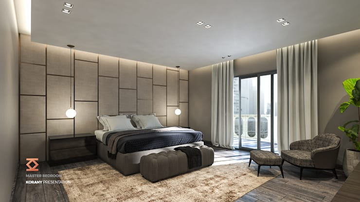 Bedroom by ICONIC DESIGN STUDIO, Modern