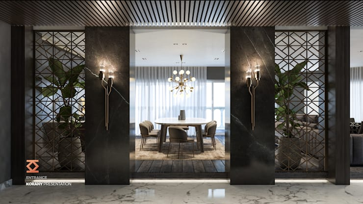غرفة السفرة تنفيذ ICONIC DESIGN STUDIO
