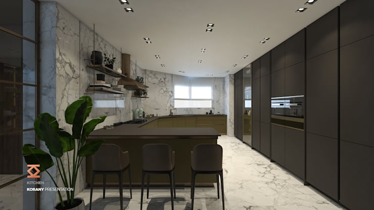 Kitchen by ICONIC DESIGN STUDIO