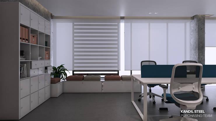 Study/office by ICONIC DESIGN STUDIO