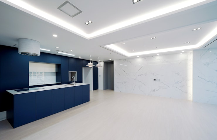 Modern Living Room by 디자인 아버 Modern