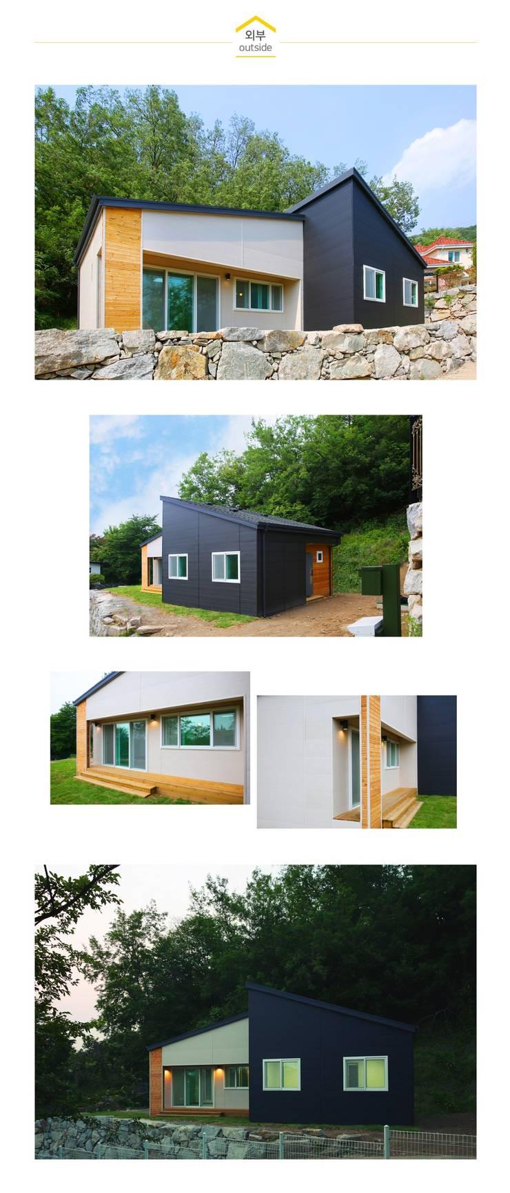 Maisons de style  par 공간제작소(주), Classique