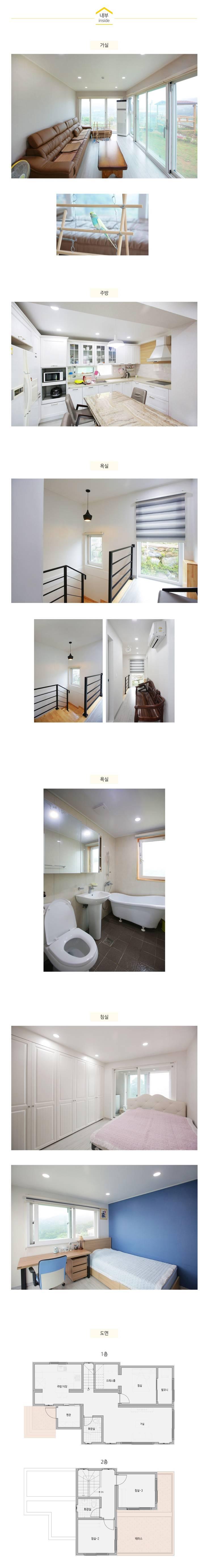 공기순환이 잘 되는 모듈러주택_내부: 공간제작소(주)의  방,