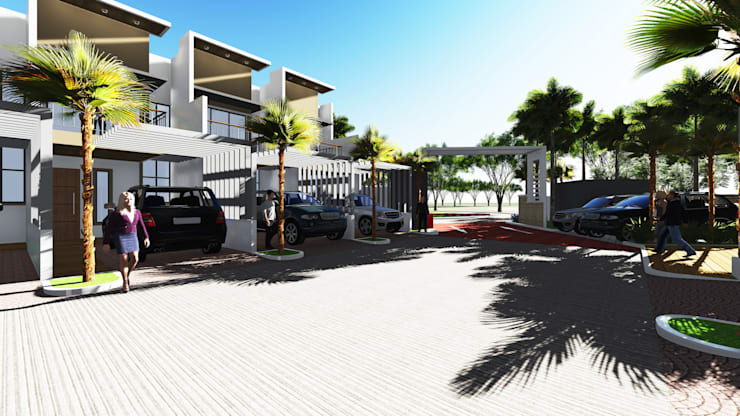 La Cassandra Residences:  Townhouse by LAarchitecture