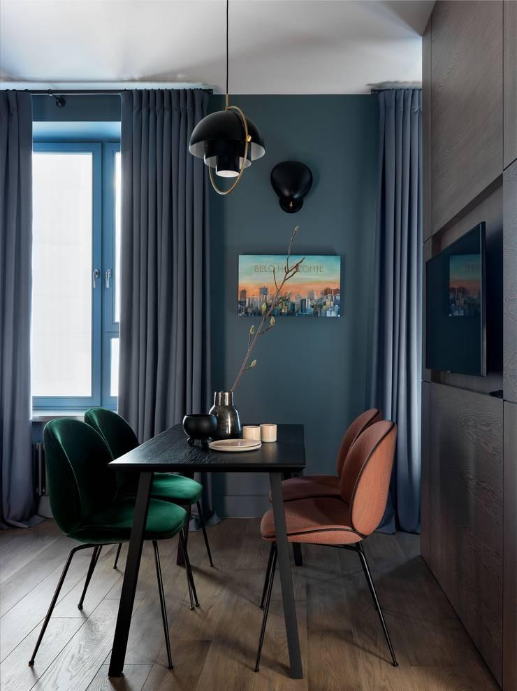 Living room by Дизайн бюро Татьяны Алениной, Modern