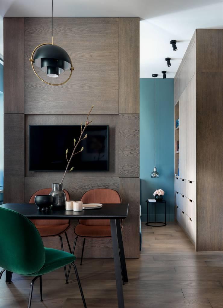 Dining room by Дизайн бюро Татьяны Алениной, Modern
