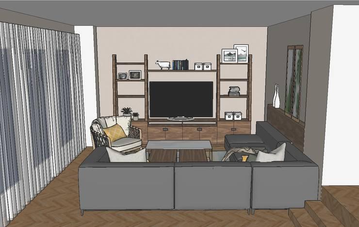 Casa Familiar:  de estilo  por G.S interiores,