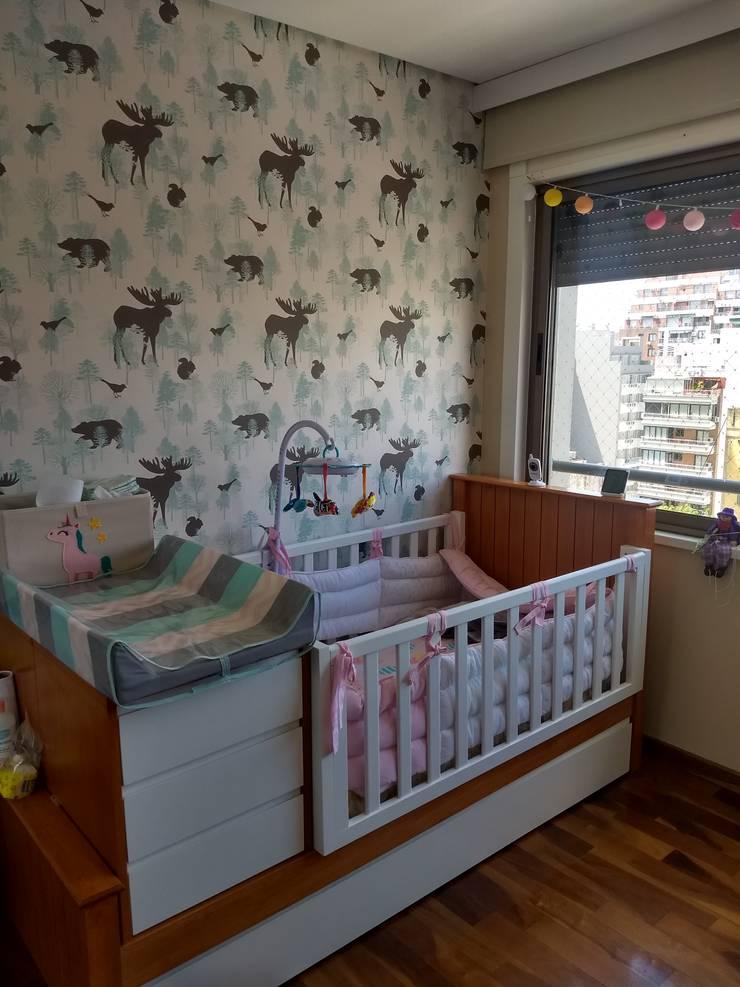 Habitacion infantil: Dormitorios de estilo  por G.S interiores,