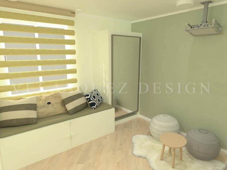 Apartamento Boyaca: Habitaciones de estilo  por Johana Velásquez , Minimalista