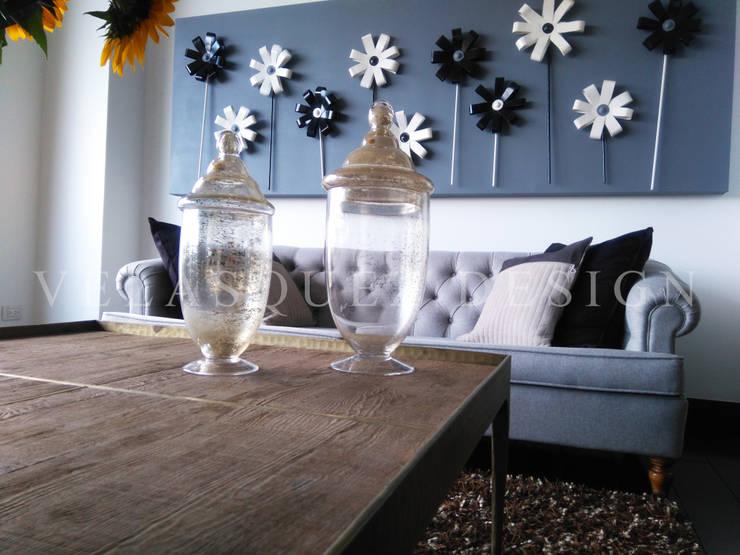 Apartamento Rosales: Hogar de estilo  por Johana Velásquez