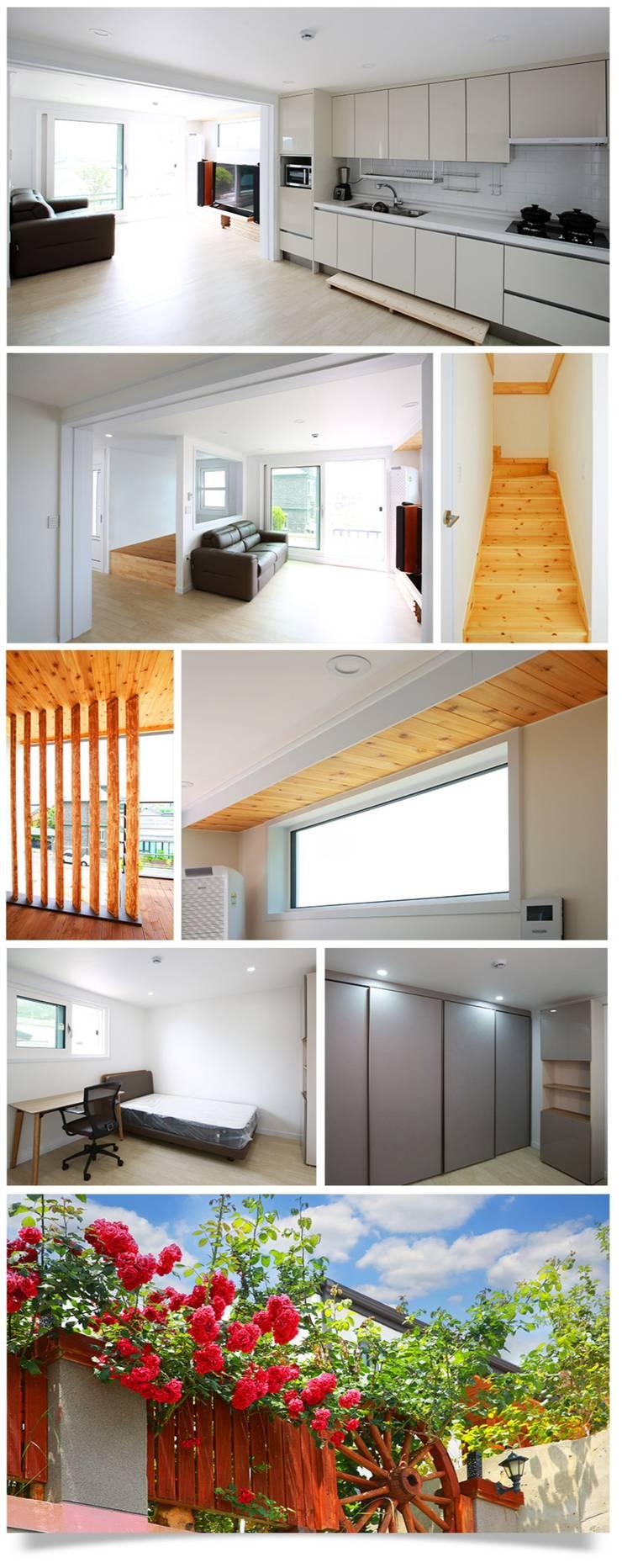 Modern living room by 공간제작소(주) Modern لکڑی Wood effect
