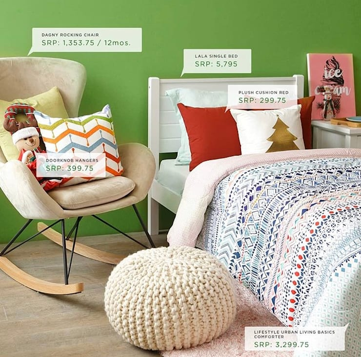 Interior Styling for AllHome Christmas Catalog 2018:  Boys Bedroom by Interiors by Corinne Bolisay