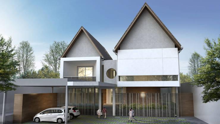 Mr.A House - Jambi:  Rumah tinggal  by CV Berkat Estetika
