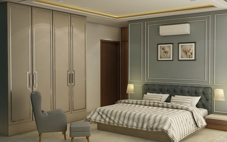 Dormitorios de estilo clásico de Midas Dezign Clásico