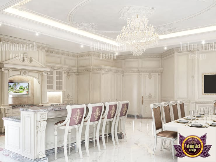 Open Space Interior Designer:   by Luxury Antonovich Design