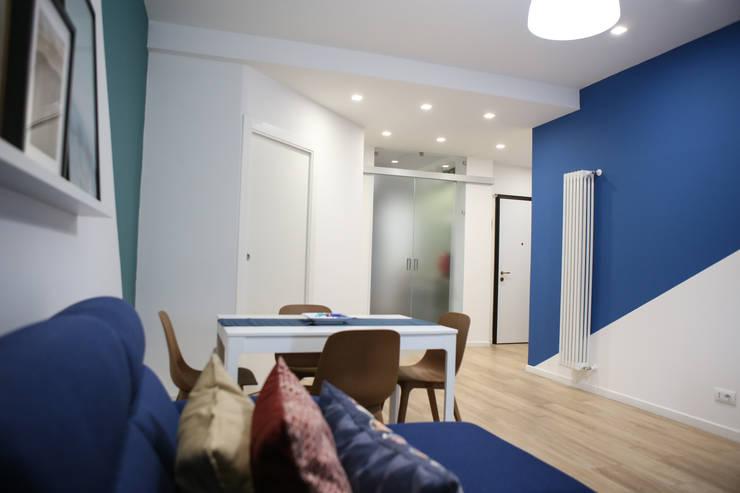 Living room by T_C_Interior_Design___, Minimalist