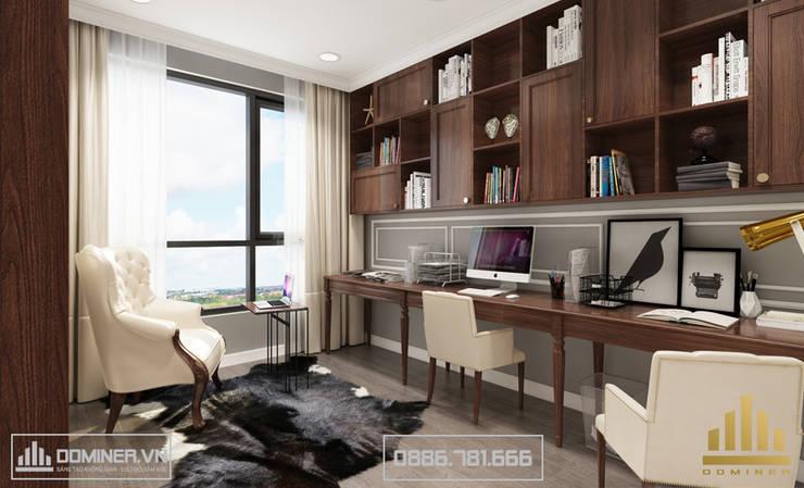 Không gian phòng làm việc:   by Thiết kế - Nội thất - Dominer