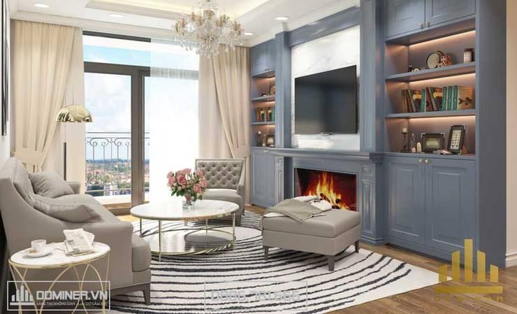 Không gian phòng khách :   by Thiết kế - Nội thất - Dominer