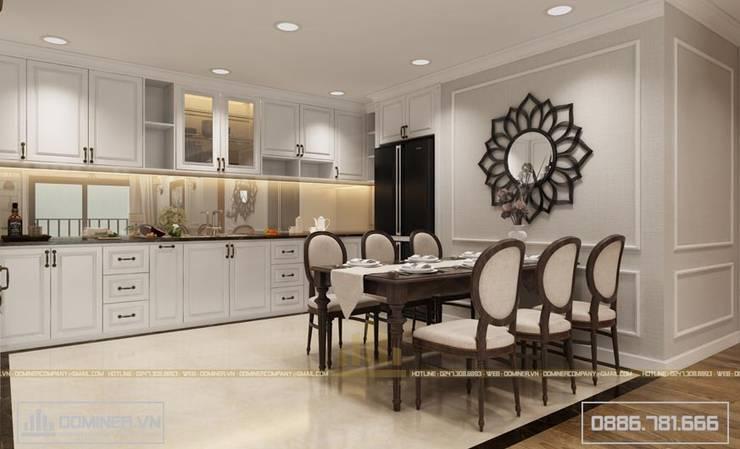 Không gian phòng bếp:   by Thiết kế - Nội thất - Dominer