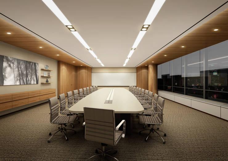 SK건설 관훈빌딩 회의실: Metaverse의  회사,