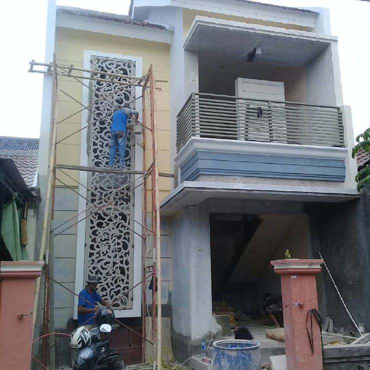 Fasad GRC:  Konservasi by Arkonintro Pratama