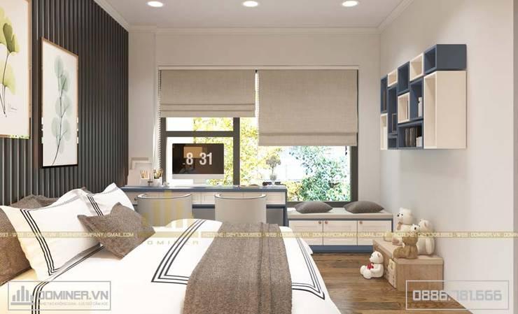 Phòng ngủ bé trai:   by Thiết kế - Nội thất - Dominer