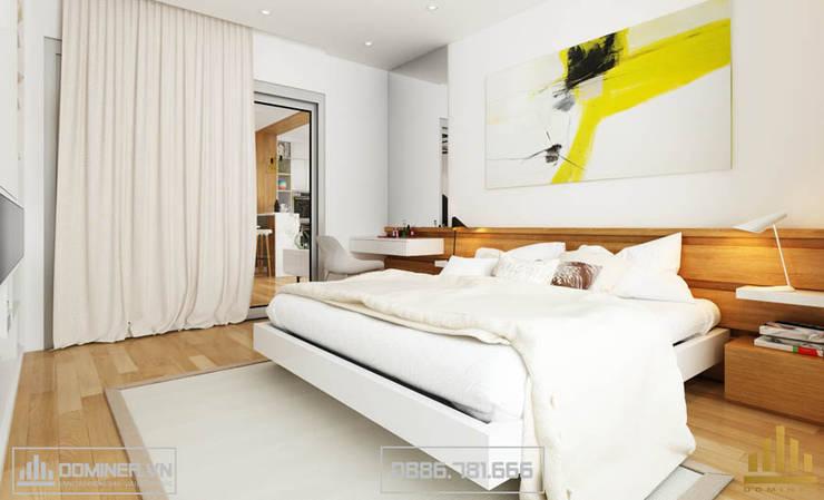 Không gian phòng ngủ:   by Thiết kế - Nội thất - Dominer