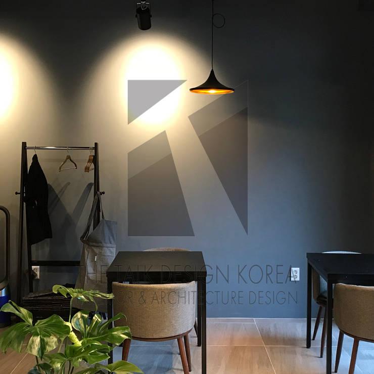KAPPO RUTO Project: 더톡디자인(The talk design)의  사무실 공간 & 가게