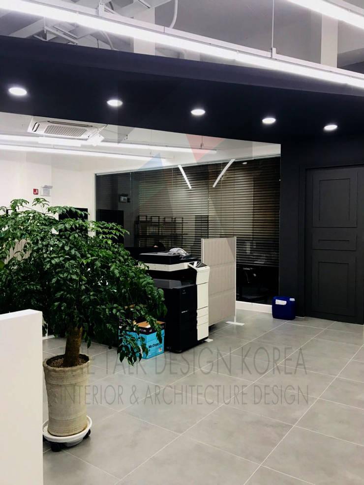 침상동 오피스 project: 더톡디자인(The talk design)의  사무실 공간 & 가게,