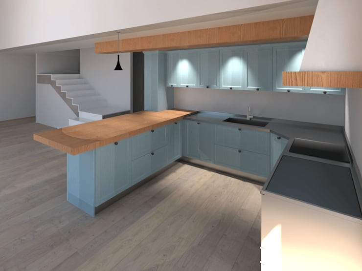Built-in kitchens by G&S INTERIOR DESIGN