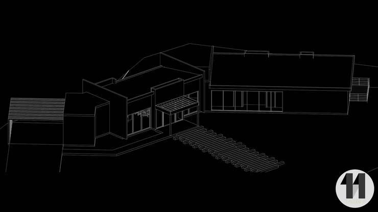 Imagen 3D:  de estilo  por Taller Once Arquitectura