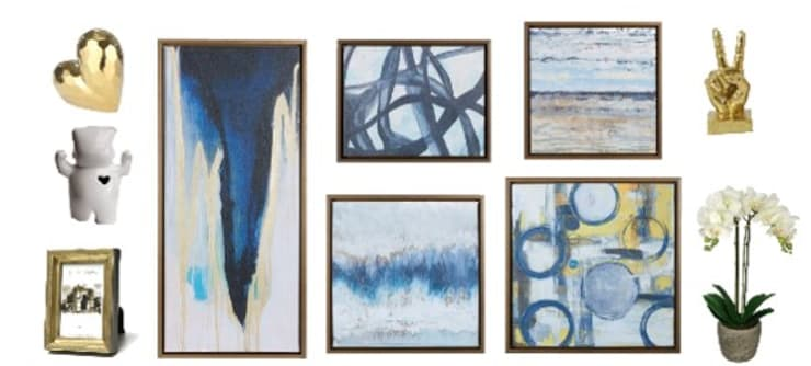 Canvas y accesorios decorativos: Dormitorios de estilo  por Shirley Palomino