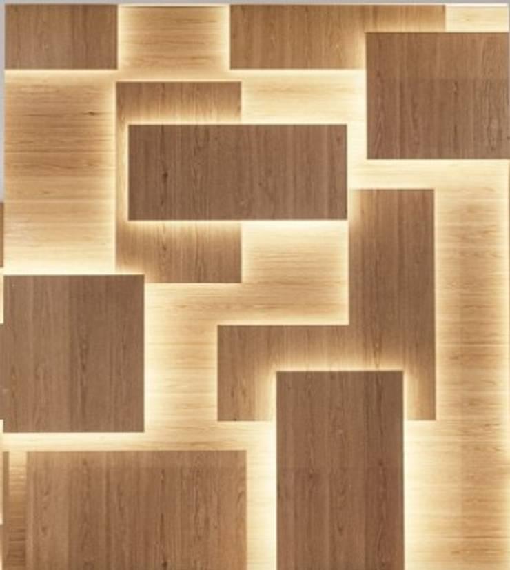Panel decorativo 3D: Paredes de estilo  por Shirley Palomino