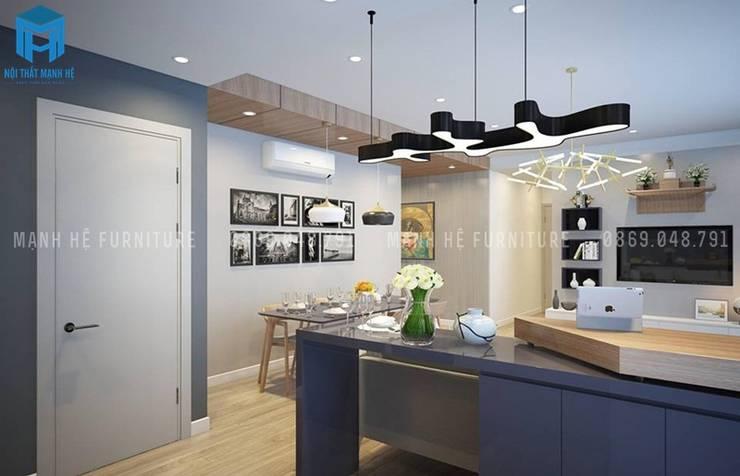 Designer:  Kitchen by Công ty TNHH Nội Thất Mạnh Hệ